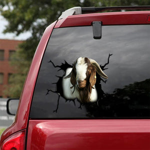 BOER GOAT CRACK STICKER CATTLE LOVER