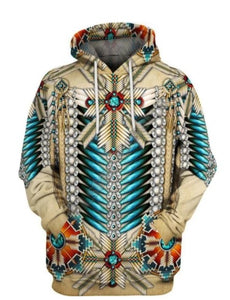 Native Americans 3D Hoodies/sweatshirts Tee Men & Women