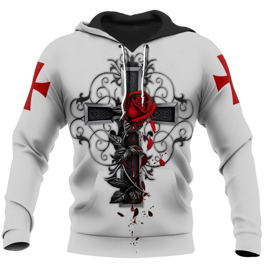 Knight God Jesus 3D All Over Printed Shirt Hoodie For Men And Women JJ25
