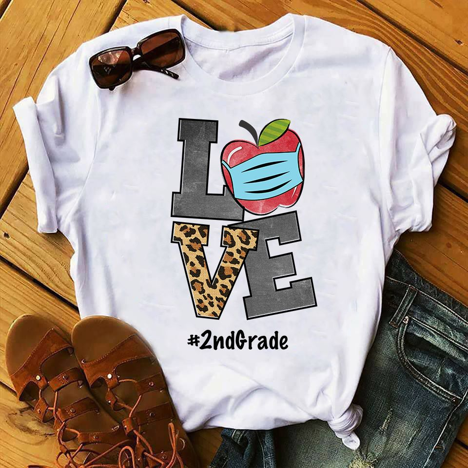 Love 2nd Grade T-Shirt