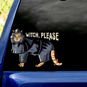 Witch, Please! Cat Sticker