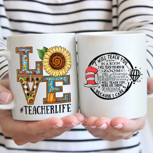 Love Teacher Life Mug 01
