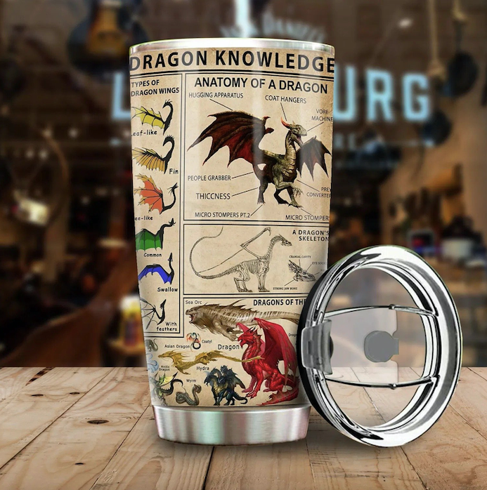 Dragon Knowledge Tumbler