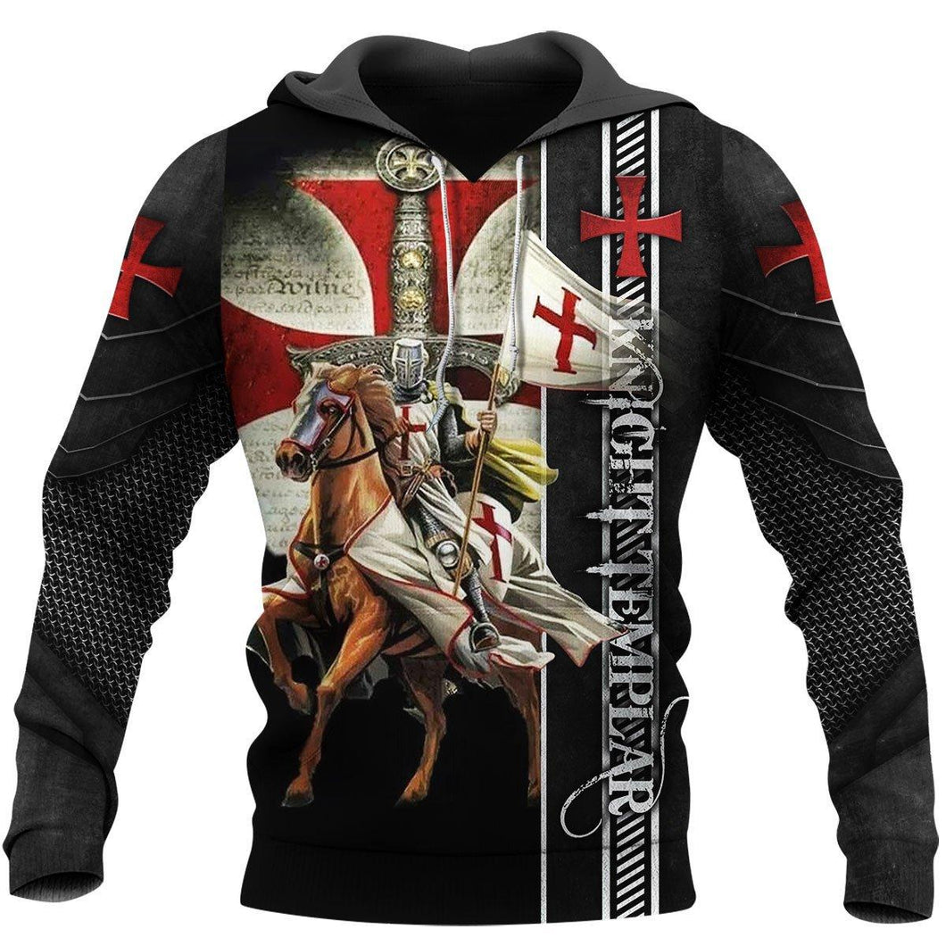 Knight Templar 3D All Over Printed Shirt Hoodie MP922