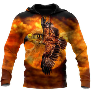 Eagle Fly Hoodie 3D All Over Printed Shirts For Men VP15092002-LAM