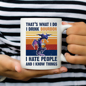 Dragon Drink Bourbon Hate People