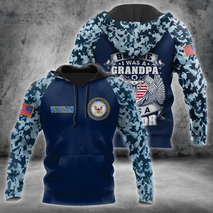 All Over Printed Navy Veteran Hoodie TR2808203-MEI