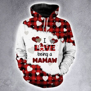 I Love Being A MaMaw Hoodie 3D