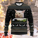 Smudge The Cat Ugly Sweatshirt