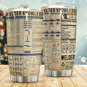 Welder Knowledge Tumbler