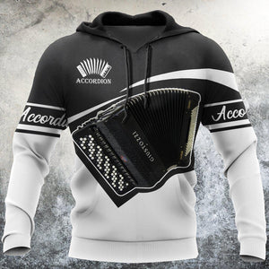 Accordion music 3d hoodie shirt for men and women HG09010