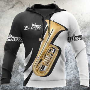 Baritone music 3d hoodie shirt for men and women HG H271