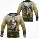 Knight Templar 3D All Over Printed Shirt Hoodie MP931