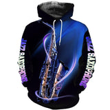 Saxophone music 3d hoodie shirt for men and women HG121