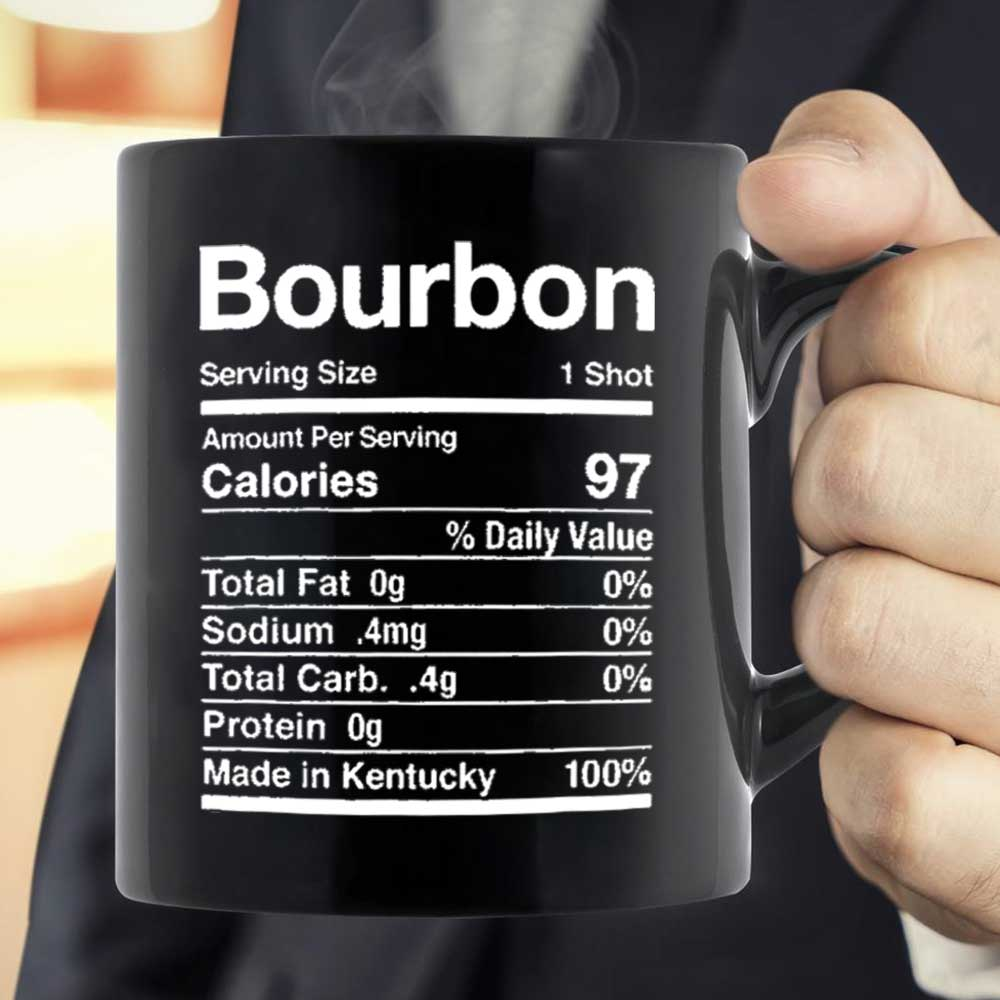 Bourbon Nutrition Mug Black