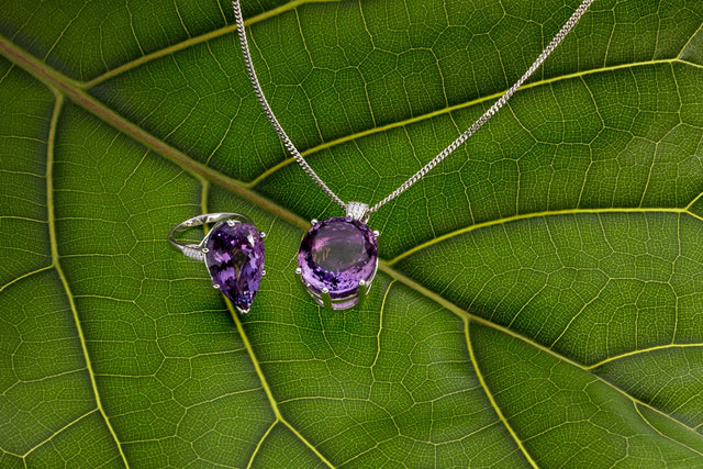 The amethyst and diamond Viola collection by Biagio Patalano