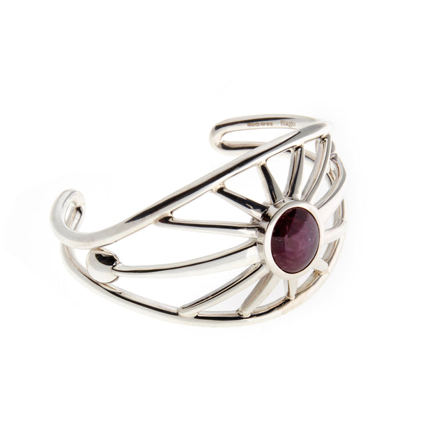 A cabochon ruby cuff by Biagio Patalano for the Artistry collection.