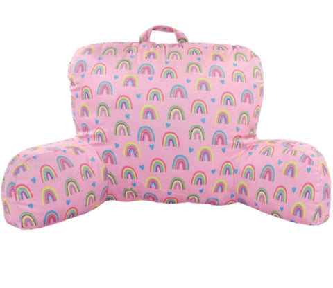 Rainbow & Hearts Lounge Pillow