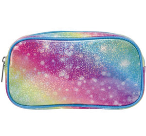 Shimmering Rainbow Small Cosmetic Bag