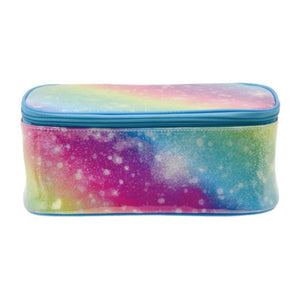 Shimmering Rainbow Cosmetic Case