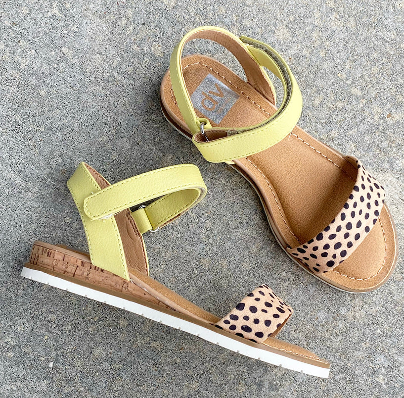Cheetah Dollia Sandal