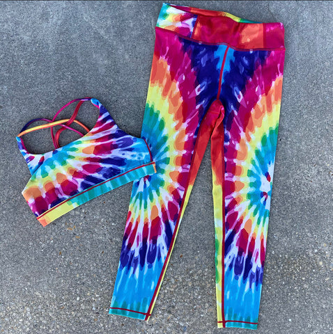 Rainbow Starburst Legging