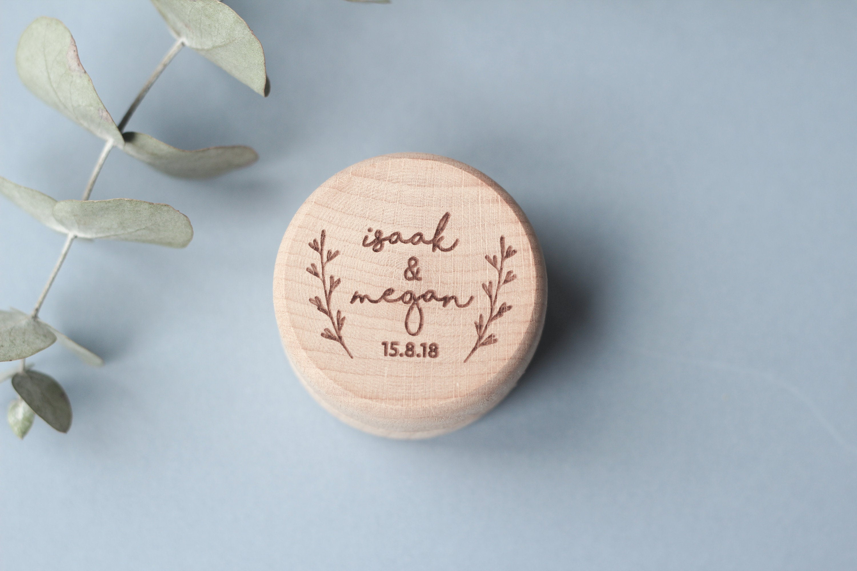 Custom Wood Ring Box, Proposal Ring Box