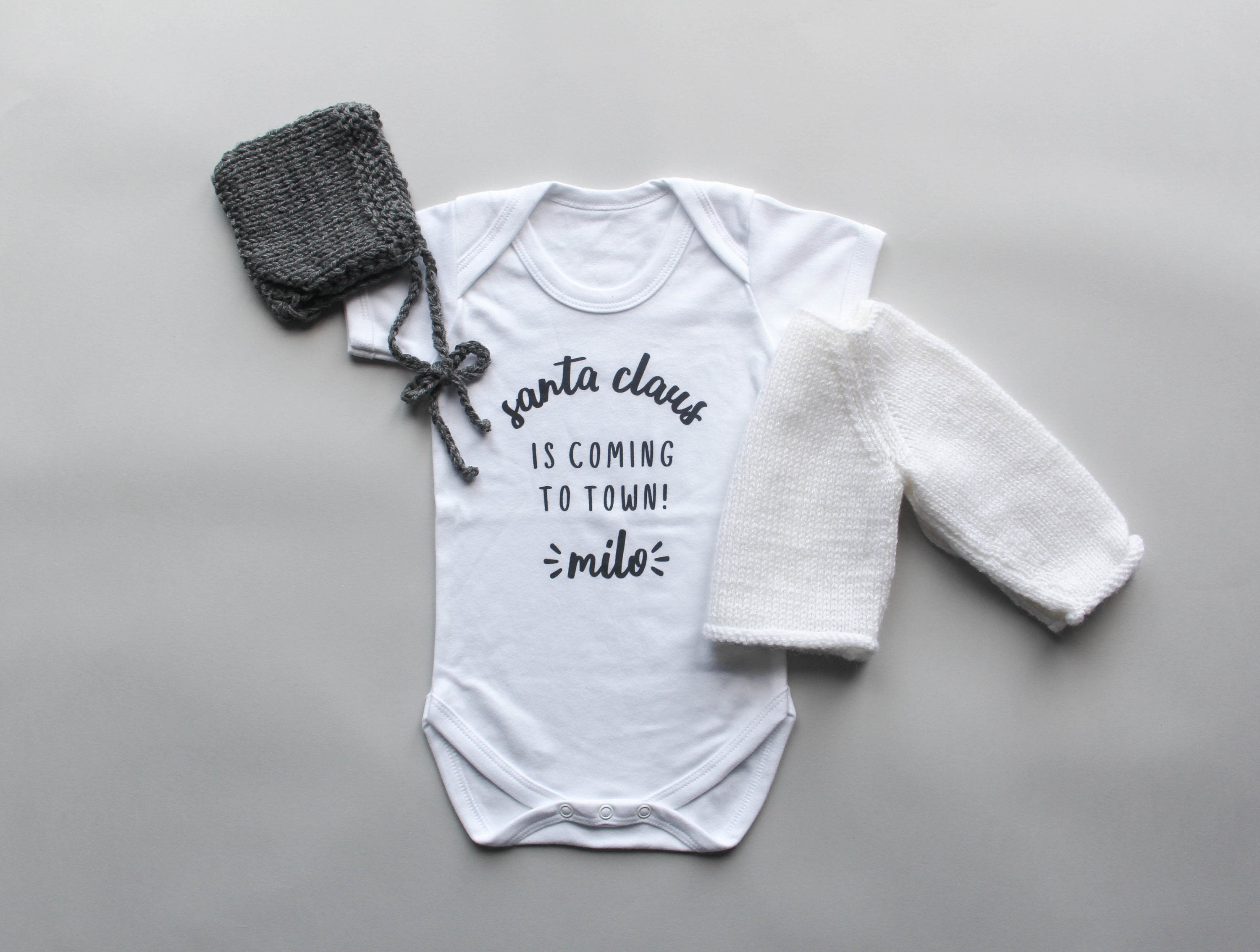 Personalised Baby Grow, Baby Shower Gift