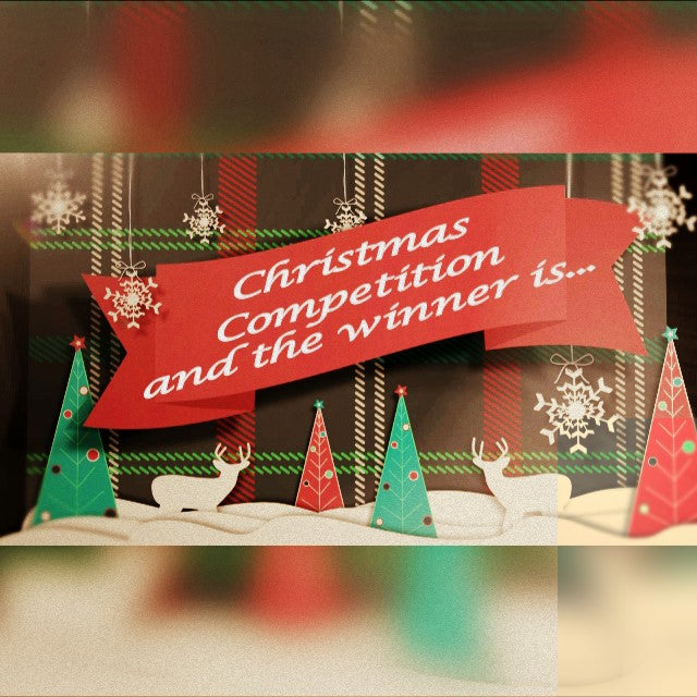 machine embroidery, christmas, competition