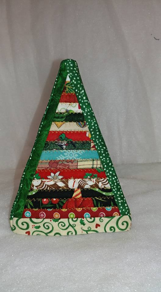 Christmas jelly roll tree 5x7 6x10 and 7x12 - Sweet Pea In The Hoop Machine Embroidery Design