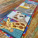 African Animals Table Runner 5x7 6x10 7x12
