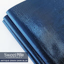 Perfect Pro™ Faux Leather - ANTIQUE GRAIN DARK BLUE 0.8mm