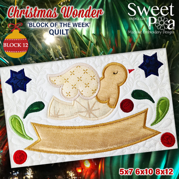 BOW Christmas Wonder Mystery Quilt Block 12