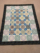 Mandala Slice Quilt 4x4 5x5 6x6 and 7x7