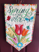 Spring is in the Air Flag 5x7 6x10 7x12