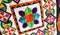 Modern Stars Quilt 4x4 5x5 6x6 7x7 8x8 - Sweet Pea In The Hoop Machine Embroidery Design