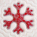 Christmas cookie cutter quilt 4x4 5x5 6x6 7x7 - Sweet Pea In The Hoop Machine Embroidery Design