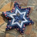 Star Placemat 5x7 6x10 7x12