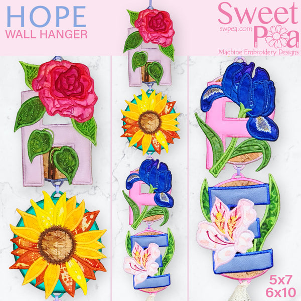 Hope Wall Hanger 5x7 6x10