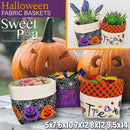 Halloween Fabric Baskets 5x7 6x10 7x12 8x12 9.5x14