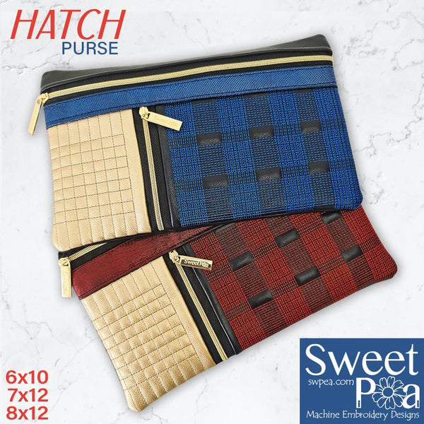 Hatch Purse 6x10 7x12 8x12