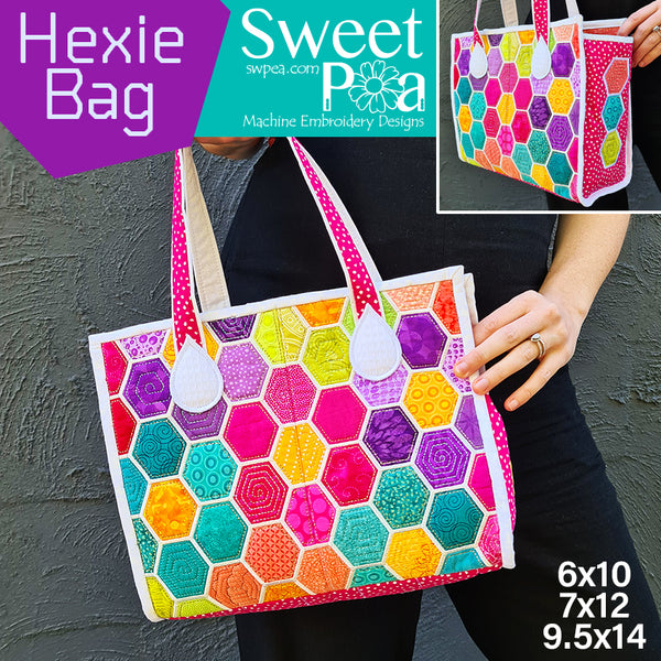 Hexie Bag 6x10 7x12 9.5x14
