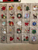 Bulk Christmas Advent Calendar Blocks 1 to 25 - Sweet Pea In The Hoop Machine Embroidery Design