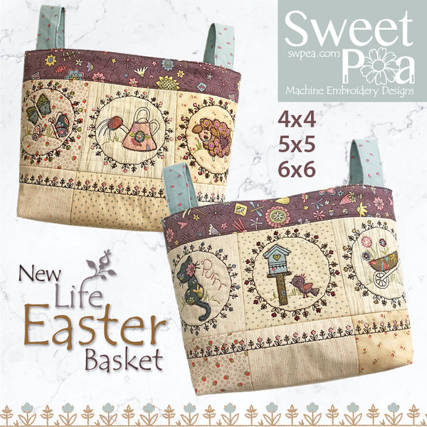 New Life Easter Basket 4x4 5x5 6x6