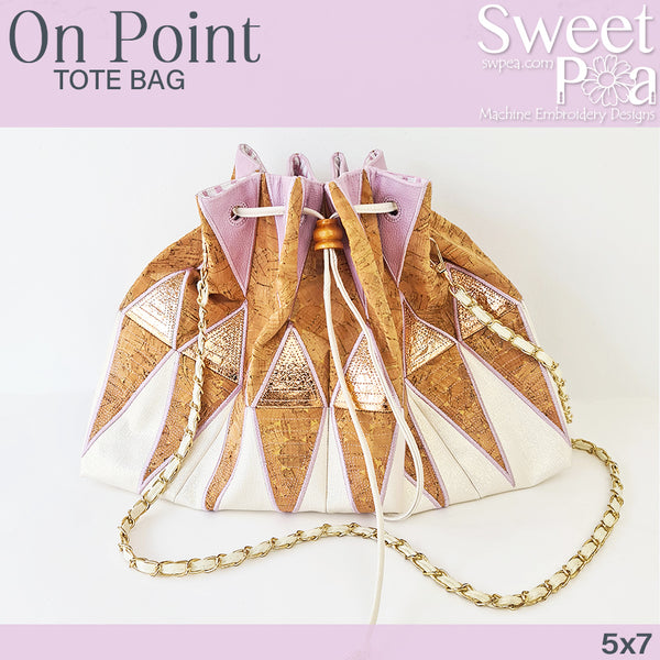 On Point Tote Bag 5x7