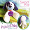 Patch The Dog Stuffie Stuffed Toy 5x7 6x10 - Sweet Pea In The Hoop Machine Embroidery Design