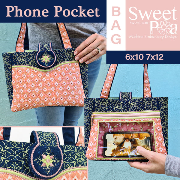Phone Pocket Bag 6x10 7x12