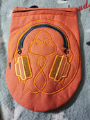Headphone Zipper Case 6x10 7x12