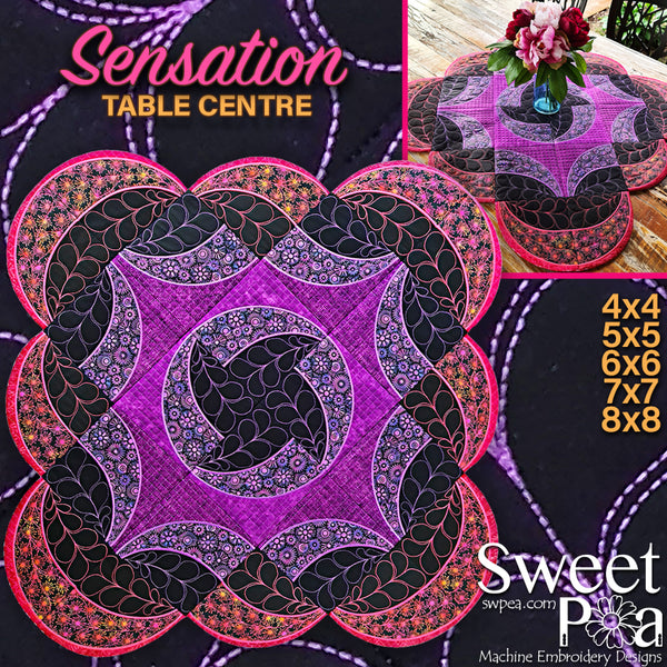 Sensation Table Centre Piece 4x4 5x5 6x6 7x7 8x8