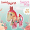 Sienna the Horse or Unicorn Stuffed Toy 5x7 and 6x10 - Sweet Pea In The Hoop Machine Embroidery Design